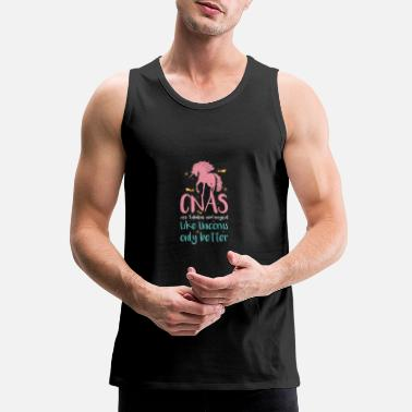 Anatomy CNAS Are Fabulous And Magical Like Unicorns Only - Men's Premium Tank Top
