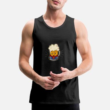 Super Beer SUPER BEER - Men's Premium Tank Top