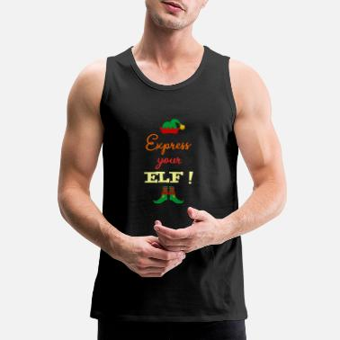 Expression Express your ELF! - Express yourself! - Men's Premium Tank Top