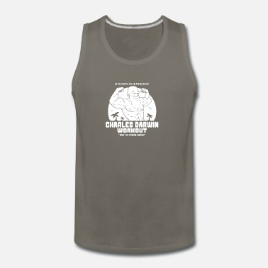 Darwin DARWIN WORKOUT - Men's Premium Tank Top