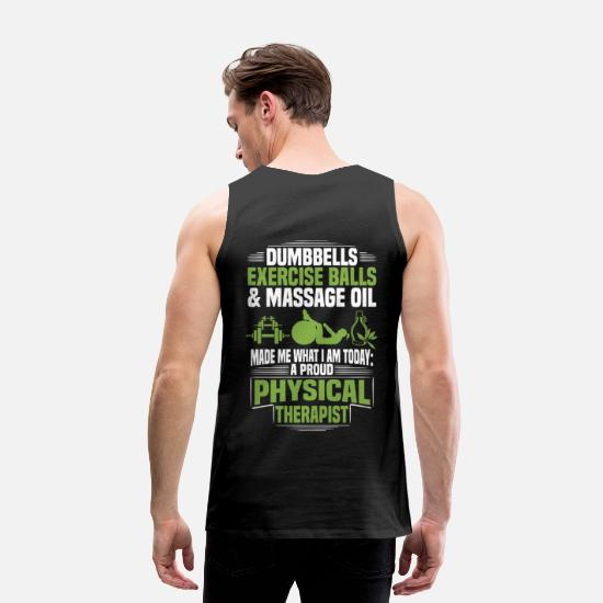 Funny Tank Tops - Physical Therapist / Physical Therapy - Proud - Men's Premium Tank Top black