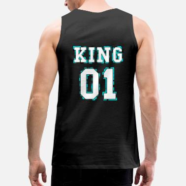 King King - Queen Couple Design - Men's Premium Tank Top