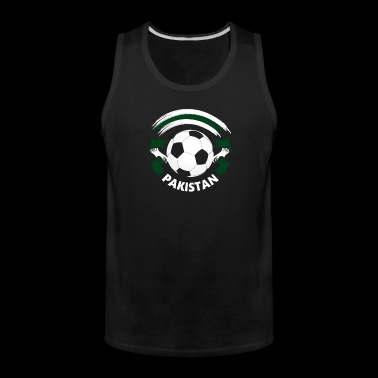 Pakistan Football Soccer Fan Flag - Men's Premium Tank