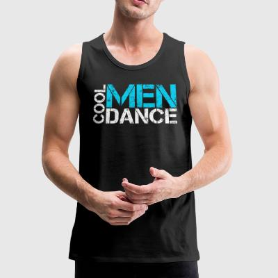 Cool men dance vintage - Men's Premium Tank