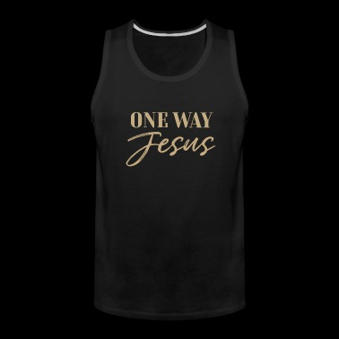 Christian, There is none other name - Men's Premium Tank