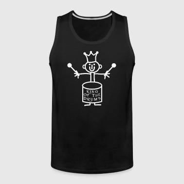 Stickfigure - King of the Drums - Men's Premium Tank
