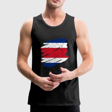 Pinsel Land Heimat Costa Rica - Men's Premium Tank