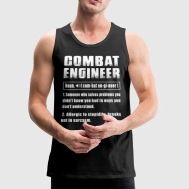 Combat Engineer Noun - Men's Premium Tank