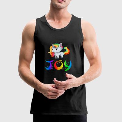 Joy Unicorn - Men's Premium Tank