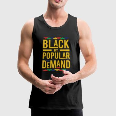 BLACK BY POPULAR DEMAND - Men's Premium Tank