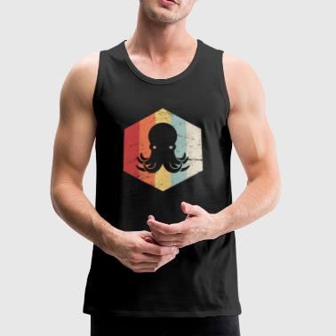 Retro 70s Octopus - Men's Premium Tank