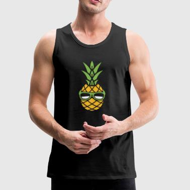 Cool Vacation Pineapple - Men's Premium Tank