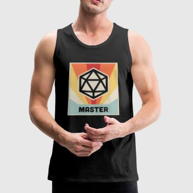 Vintage D20 Roleplaying Game - Men's Premium Tank