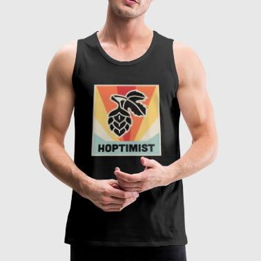 HOPTIMIST Craft Beer Homebrew - Men's Premium Tank