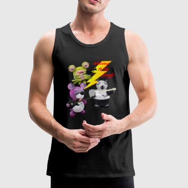 Crazy Paper Craft - Welcome to the jungle - Men's Premium Tank