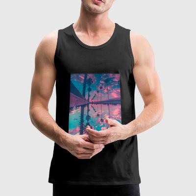 Palm trees - Men's Premium Tank