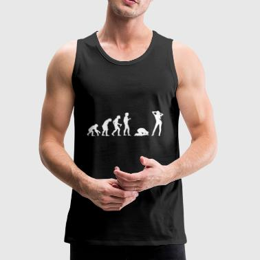 Bachelor Party Buck´s Night Stag Night Evolution - Men's Premium Tank