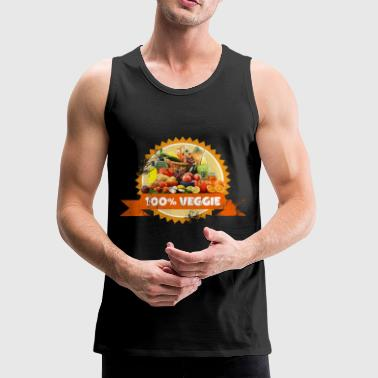 Veggie Vegetables Vegan Fruits - Men's Premium Tank
