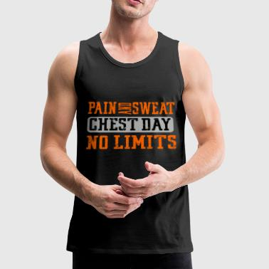 Funny Gym Workout Fitness Lifting Motivation Gift - Men's Premium Tank
