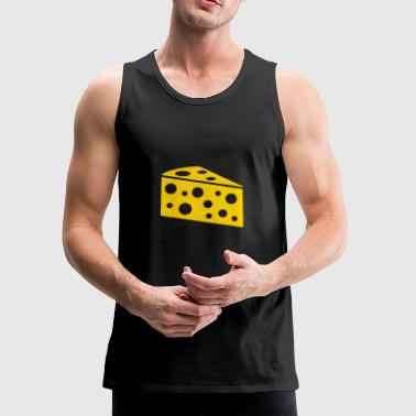 A piece of cheese - Men's Premium Tank