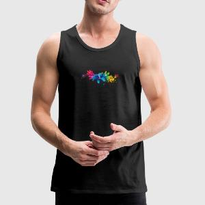 Vector High Quality PNG - Men's Premium Tank