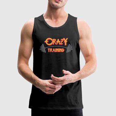 Crazy Training - Men's Premium Tank
