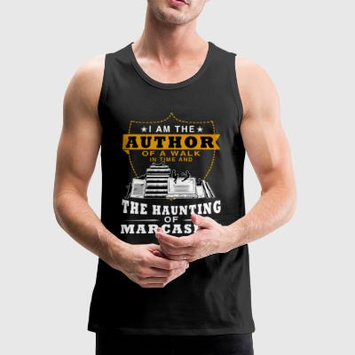 I Am The Author Of A Walk In Time T Shirt - Men's Premium Tank