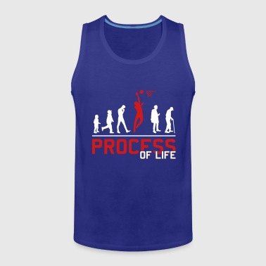 Basketball Player Basketball Evolution basketball player - Men's Premium Tank