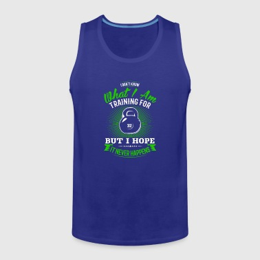 Training Training for - Men's Premium Tank