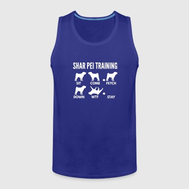Shar Pei Training Shar Pei Tricks - Men's Premium Tank