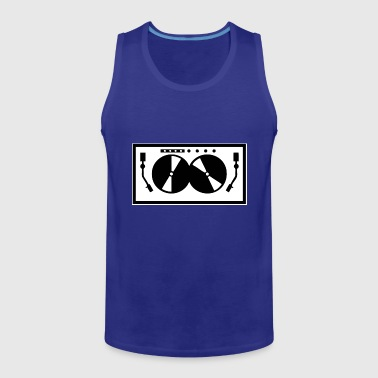 disc jockey - Men's Premium Tank