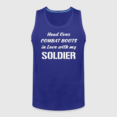 Head Over Combat Boots in Love with my Soldier - Men's Premium Tank