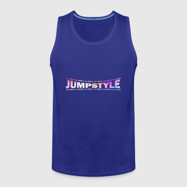 LOVE TECHNO GESCHENK goa pbm JUMPSTYLE hippie - Men's Premium Tank