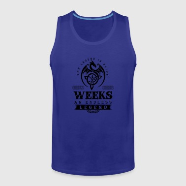 Week WEEKS - Men's Premium Tank
