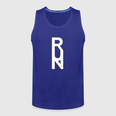 Geometric RUN RACERBACK - Men's Premium Tank