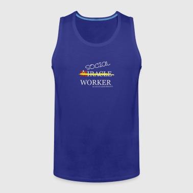 New Design Social Workers at Madonna Best Seller - Men's Premium Tank