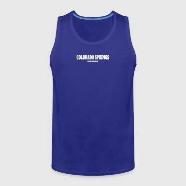 COLORADO COLORADO SPRINGS US EDITION - Men's Premium Tank