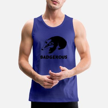 Badger Badgerous - Men's Premium Tank