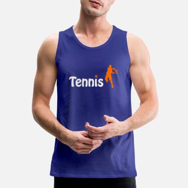 Sporty Tennis player cool sporty - Men's Premium Tank