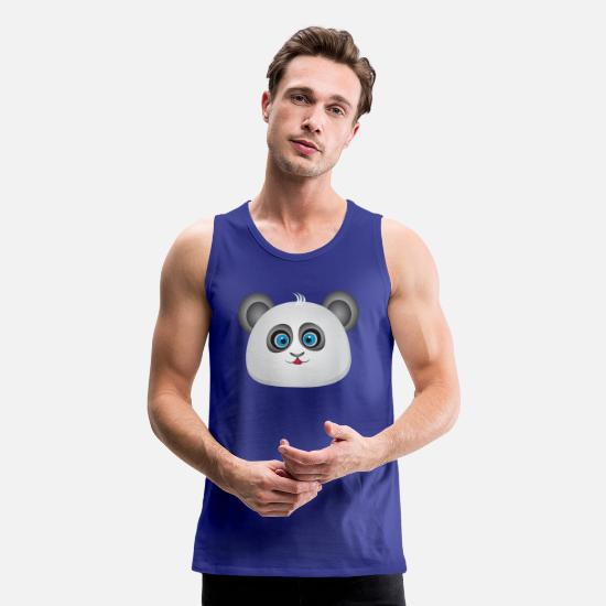 Funny Animals Tank Tops - Funny Design - Men's Premium Tank Top royal blue