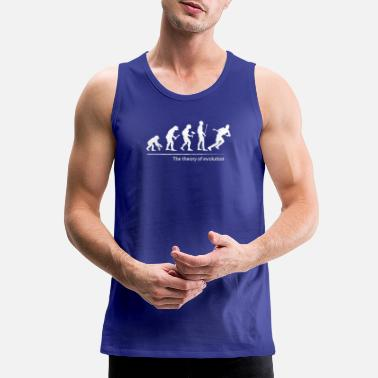 The theory of evolution (hockey) - Men's Premium Tank Top