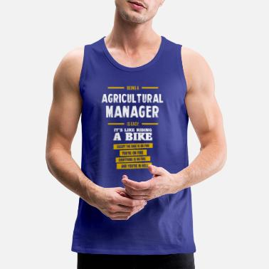Agriculture agricultural manager - Men's Premium Tank