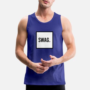 Swag Swag - Men's Premium Tank Top