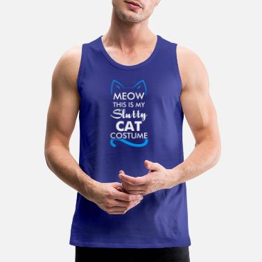 Slutty Slutty Sexy Cat - Men's Premium Tank