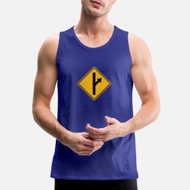 Road Sign MGTOW Road Sign - Men's Premium Tank