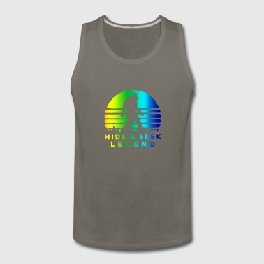 Hide and Seek Legend Bigfoot Yeti - Men's Premium Tank