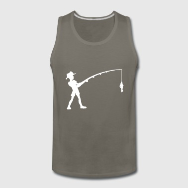 Fishing Fisherman Fish - Men's Premium Tank