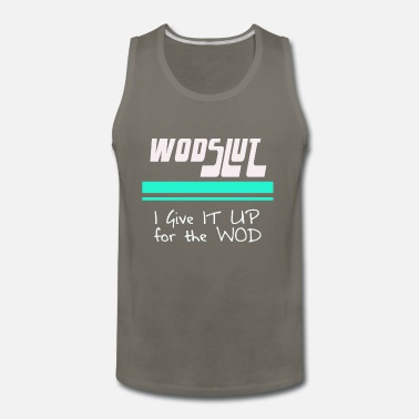 Crossfit wodslut crossfit - Men's Premium Tank Top