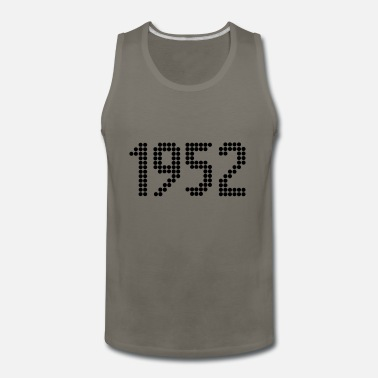 Year Of Birth 1952, Numbers, Year, Year Of Birth - Men's Premium Tank Top
