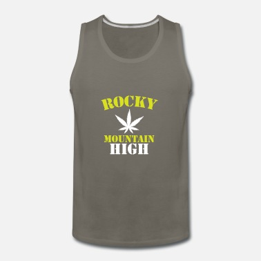 Rocky Mountains Rocky Mountain High - Men's Premium Tank